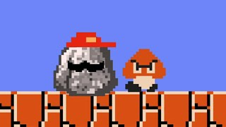 What if Mario was a ROCK? #shorts