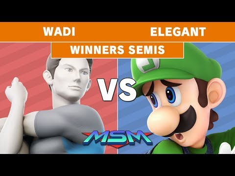 MSM 187 - AG | WaDi (Wii Fit Trainer) Vs. Elegant (Luigi) Winners Semis - Smash Ultimate