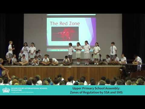 Upper Primary School Assembly - Zones of Regulation by 5SA and 5
