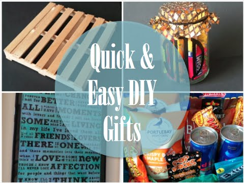 Quick Easy Diy Gifts Play