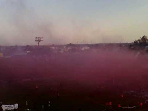 """""""San Martin (Tuc) vs Boca Juniors - Fecha 16 Apertura 2008/2009"""" Barra: La Banda del Camion • Club: San Martín de Tucumán"""
