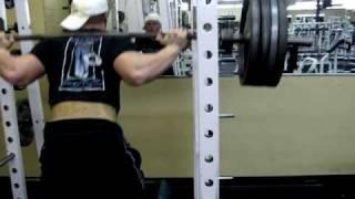Travis Cadenhead squats