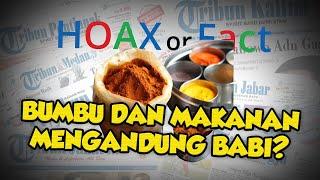 HOAX! Merek Bumbu dan Makanan Mengandung Babi