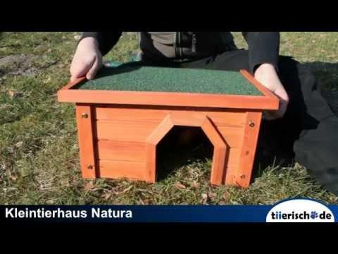 Trixie Kleintierhaus Natura aufbauen