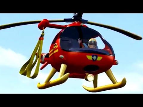 Feuerwehrmann Sam ⭐️Hubschrauberrettung 🚁 Neue Folgen 🔥Zeichentrick für Kinder | WildBrain