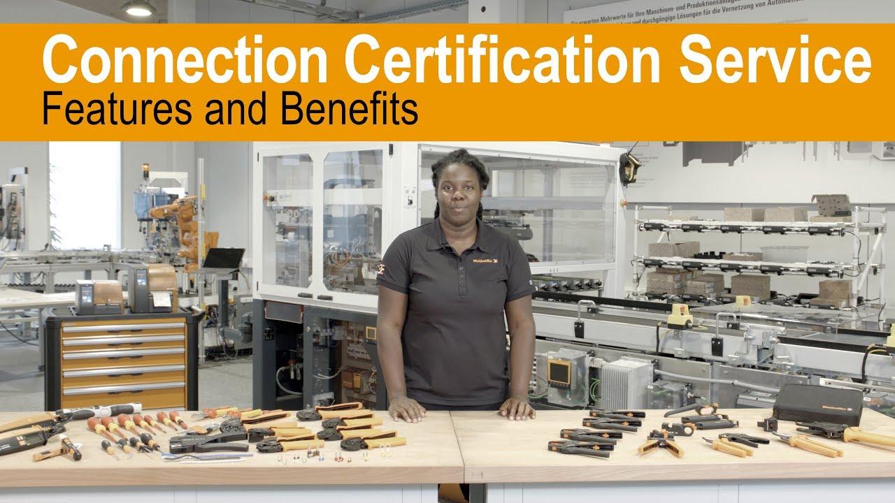 Servicio de certificación de Weidmüller