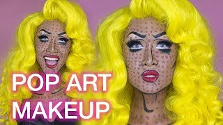 POP ART Drag Makeup Tutorial!