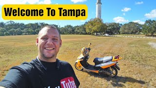 Welcome To Tampa Motovlog #fpv #tampa #walterrific #Scootervlogs #drone #remoteid #dji