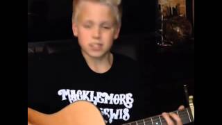 """Justin Bieber """"All The Matters"""" Carson Lueders Short Cover"""