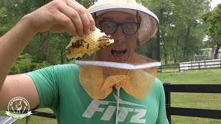Is It TOO LATE To Make A Split? | Full Bee Hive Inspection