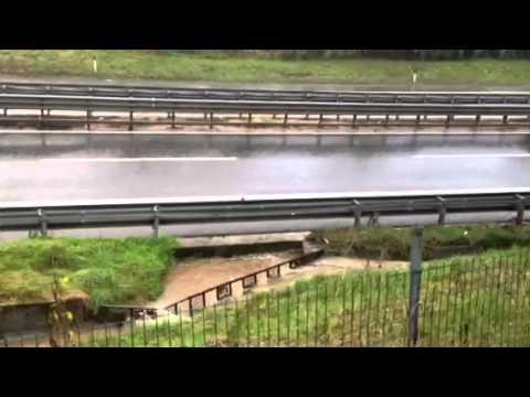 L'Arnetta invade l'A8 a Castronno