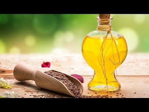 В чём ЦЕННОСТЬ ЛЬНЯНОГО МАСЛА? Супер ОМОЛАЖИВАЮЩИЙ РЕЦЕПТ из лимона, ЛЬНЯНОГО МАСЛА, мёда и чеснока!