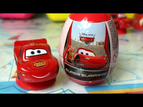 Disney Pixar Cars - Auta - Super Surprise - Eggs