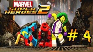 LEGO Marvel Super Heroes 2 — 4 серия — Вакандские джунгли[1080p]