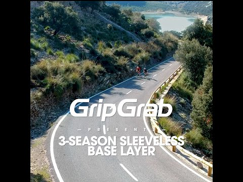 GripGrab 3-season svedundertrøje uden ærmer hvid video