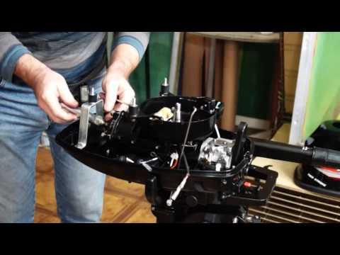 Разборка лодочного мотора Hangkai 6