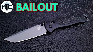 benchmade bailout 537 gy - TH-Clip