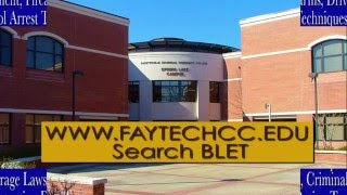 BLET program at Fayetteville Technical Community College