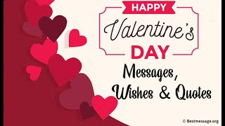 Romantic Valentine's Day Message, Best Wishes and Quotes For Boyfriend, Girlfriends, Husband & Wife