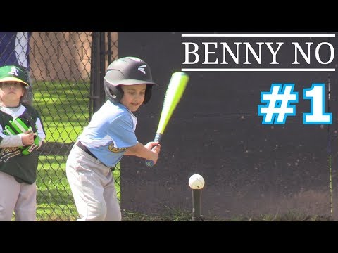 LUMPY'S FIRST BASEBALL GAME | BENNY NO | TEE BALL SERIES #1