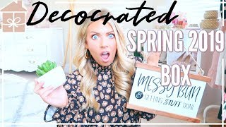 DECOCRATED Spring 2019 Unboxing | Home Decor Subscription Box
