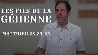 LES FILS DE LA GÉHENNE