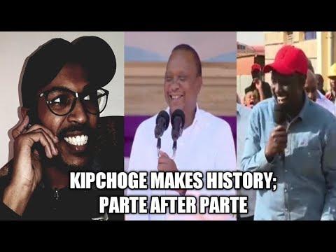 ELIUD KIPCHOGE MAKES HISTORY; PARTE AFTER PARTE FT UHURU, LONYANGAPUO