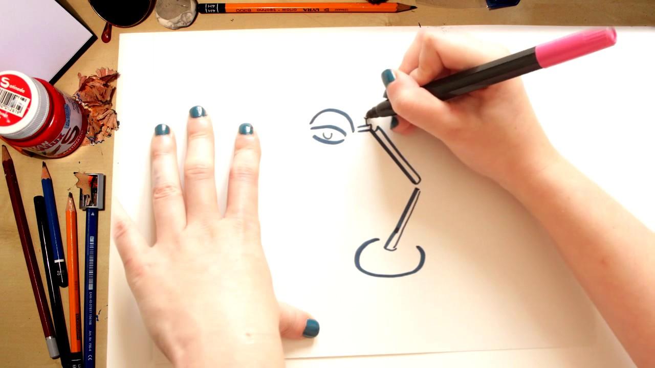 Como desenhar um Abajur de Escritório - desenhos para crianças