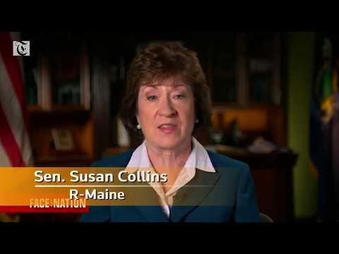 President needs to 'step back' on Mueller: Sen. Collins