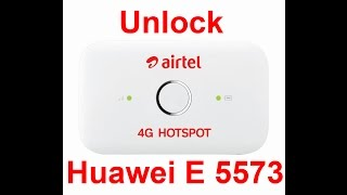 Easy Steps To Unlock Huawei E 5573 Airtel 4G Wi-Fi Router 150 MBps With Huawei V4 Algo Calculator