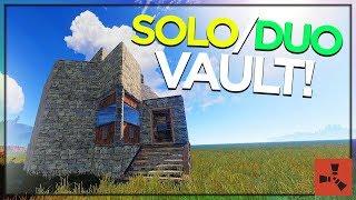 2019 SOLO/DUO VAULT BASE! (RUST BASE TUTORIAL #1)