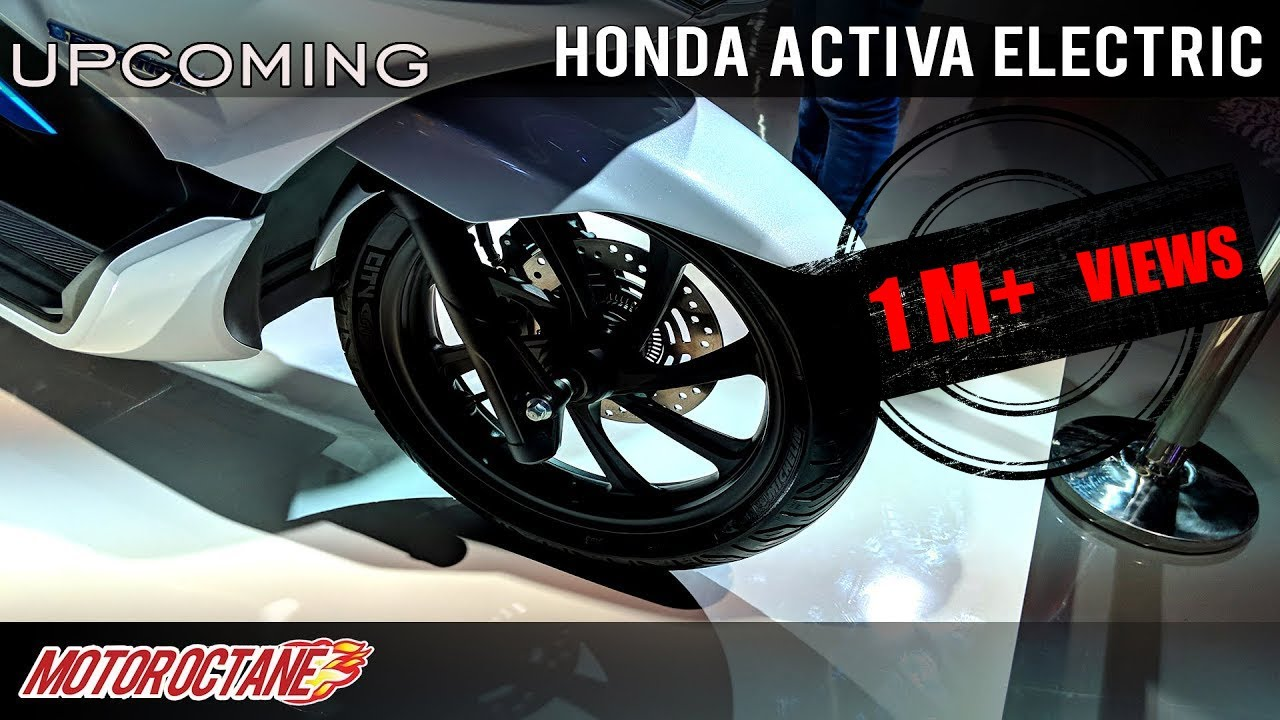 Motoroctane Youtube Video - Honda Activa Electric Upcoming | Hindi | MotorOctane