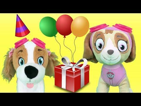 Paw Patrol Fiesta Juguetes EspañolBebe Cumpleaños Con Skye Feliz xWdoBerC