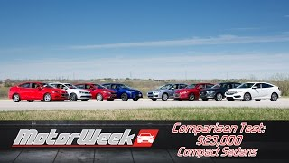 Comparison Test: $23,000 Compact Sedan Challenge
