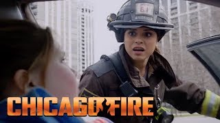 Kid Caught In The Driver's Seat | Chicago Fire