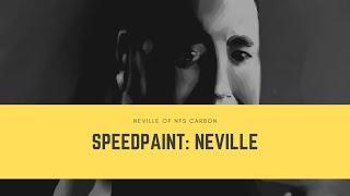 🔥SpeedPaint: Рисую Невилла из nfs Carbon✍