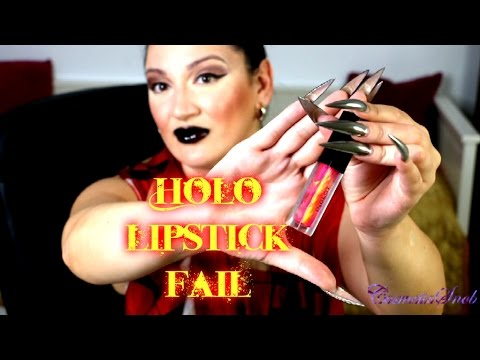 Holosexual Lipstick Fail (Inspired by Simply Nailogical) | CosmeticSnob