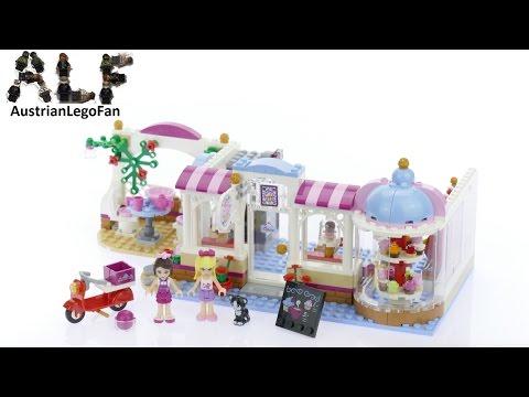 Vidéo LEGO Friends 41119 : Le cupcake café d'Heartlake City
