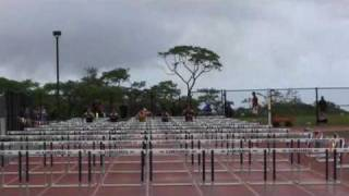 preview picture of video 'Boys 110HH BIIF All-Comers 4/10/2010'