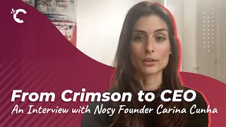 youtube video thumbnail - From Crimson to CEO: An Interview with Nosy Founder Carina Cunha