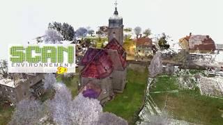 L'Eglise de Servin(25) en visite numérique