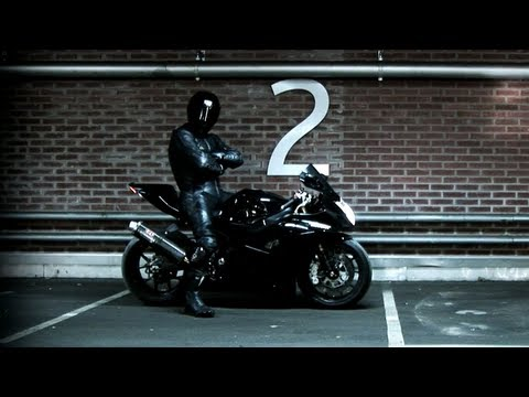 BEST of Ghostrider 666 (360 kmh on the Highway, Police chases & Stunts)