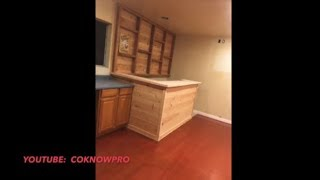 How To Build A Bar For Your Home By Co-Know-Pro (YouTube)