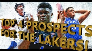 WHO SHOULD THE LAKERS PICK IN THE 2019 NBA DRAFT!!!