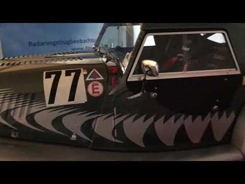 Video zapis Morgan Roadster Lightweight On The Road To The Race
