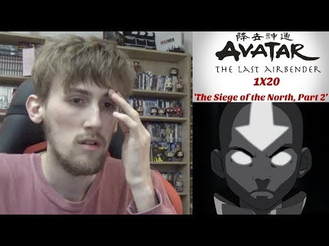 Avatar the Last Airbender Season 1 Episode 20 (Finale) - 'The Siege of the North, Part 2' Reaction