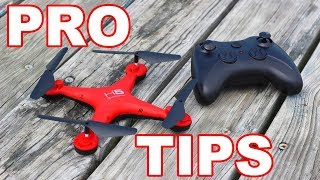 $20 Drone for Beginners with Pro Tips for Flying Drones - H5 - TheRcSaylors