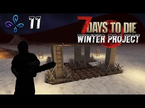 On s'amuse pendant la horde de Winter Project !! - 7 DAYS TO DIE [Fr] #11
