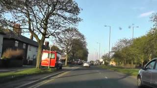 preview picture of video 'Driving Along Longmoor Lane & Valley Road A506, Liverpool, England Monday, 6th May 2013'
