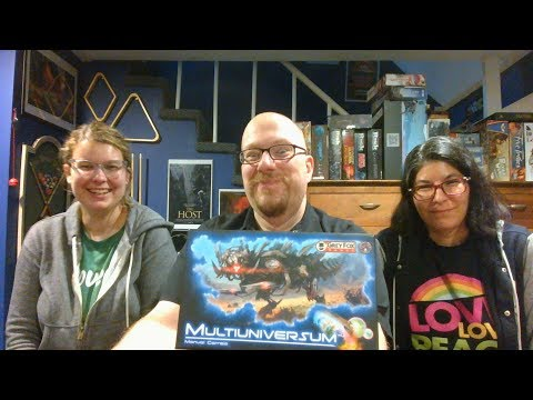 The Board Game Kaptain's review and tutorial for Multiuniversum